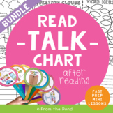 Guided Reading Activities - Read, Talk, Chart