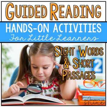 Guided Reading Activities - Sight Words & Short Passages