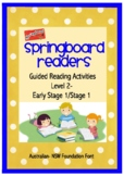 Guided Reading Activities -  Springboard Levelled Readers
