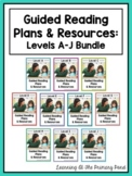 Guided Reading Activities and Lesson Plans - Levels A Through J BUNDLE