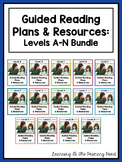 Guided Reading Lesson Plans, Books, & Activities for K-2 {Levels A-N Bundle}