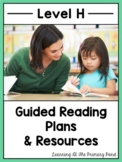 Guided Reading Activities and Lesson Plans for Level H