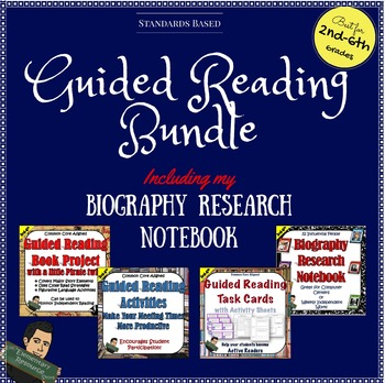 Guided Reading Activities and Projects Bundle
