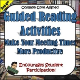 Guided Reading Activities for 2nd - 5th