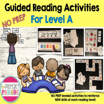 Guided Reading Activities for Level A Readers