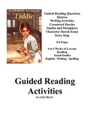 Guided Reading Activities for Lyddie, a Novel by Katherine Patterson