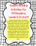 Guided Reading Activities for PM Readers, Levels 12, 13 and 14