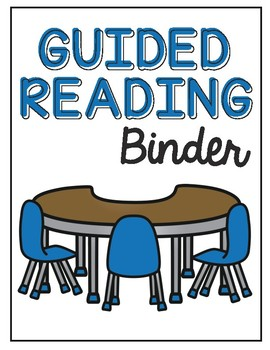 Guided Reading Activity Binder