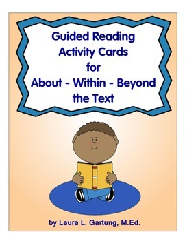 Guided Reading Activity Cards Sample Set