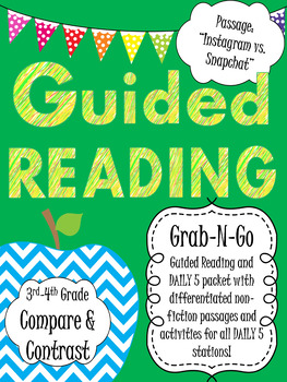 Guided Reading Activity- Compare and Contrast Packet