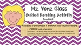 Guided Reading Activity For Fiction