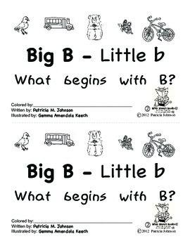 Guided Reading Alphabet Books - Letter B - Level 2