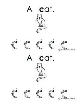 Guided Reading Alphabet Books - Letter C - Level 2