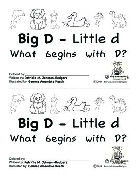 Guided Reading Alphabet Books - Letter D - Level 2