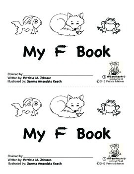 Guided Reading Alphabet Books - Letter F - Level 3
