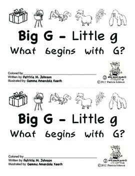 Guided Reading Alphabet Books - Letter G - Level 2