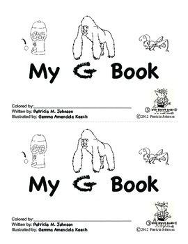 Guided Reading Alphabet Books - Letter G - Level 3