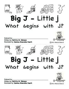 Guided Reading Alphabet Books - Letter J - Level 2