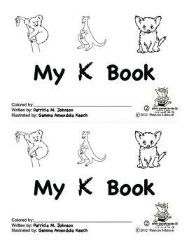 Guided Reading Alphabet Books - Letter K - Level 2