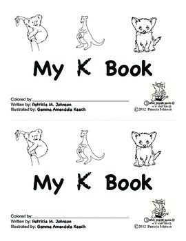 Guided Reading Alphabet Books - Letter K - Level 3