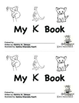 Guided Reading Alphabet Books - Letter K - Level 3