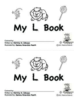 Guided Reading Alphabet Books - Letter L - Level 1