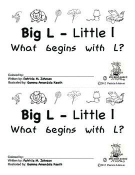 Guided Reading Alphabet Books - Letter L - Level 2