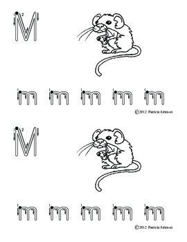 Guided Reading Alphabet Books - Letter M - Level 1