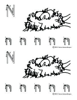 Guided Reading Alphabet Books - Letter N - Level 1