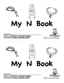 Guided Reading Alphabet Books - Letter N - Level 4