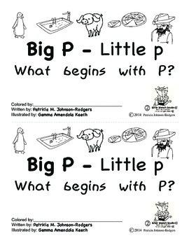 Guided Reading Alphabet Books - Letter P - Level 2