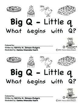 Guided Reading Alphabet Books - Letter Q - Level 2
