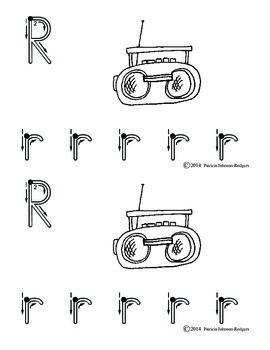 Guided Reading Alphabet Books - Letter R - Level 1