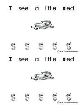 Guided Reading Alphabet Books - Letter S - Level 3