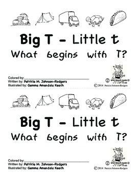 Guided Reading Alphabet Books - Letter T - Level 2
