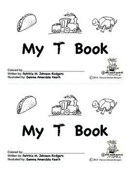 Guided Reading Alphabet Books - Letter T - Level 4
