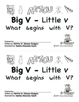 Guided Reading Alphabet Books - Letter V - Level 2
