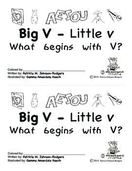 Guided Reading Alphabet Books - Letter V - Level 2