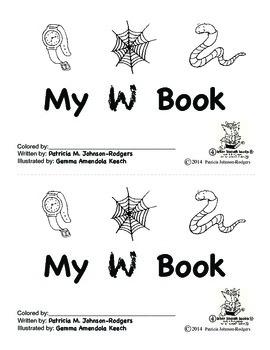 Guided Reading Alphabet Books - Letter W - Level 4