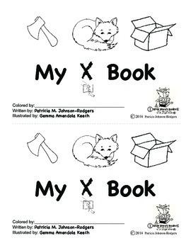 Guided Reading Alphabet Books - Letter X - Level 1