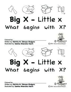 Guided Reading Alphabet Books - Letter X - Level 2