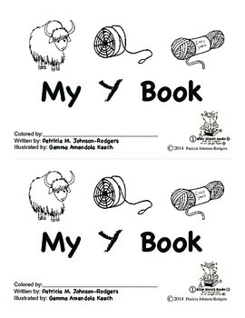 Guided Reading Alphabet Books - Letter Y - Level 1