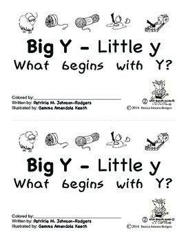 Guided Reading Alphabet Books - Letter Y - Level 2