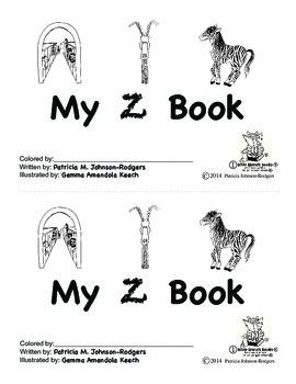 Guided Reading Alphabet Books - Letter Z - Level 1