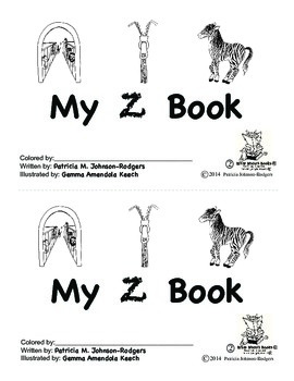 Guided Reading Alphabet Books - Letter Z - Level 2