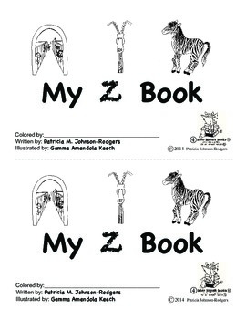Guided Reading Alphabet Books - Letter Z - Level 4