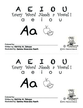 Guided Reading Alphabet Books - Vowel A - Level 1