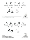 Guided Reading Alphabet Books - Vowel A - Level 2