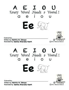 Guided Reading Alphabet Books - Vowel E - Level 4