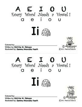 Guided Reading Alphabet Books - Vowel I - Level 1